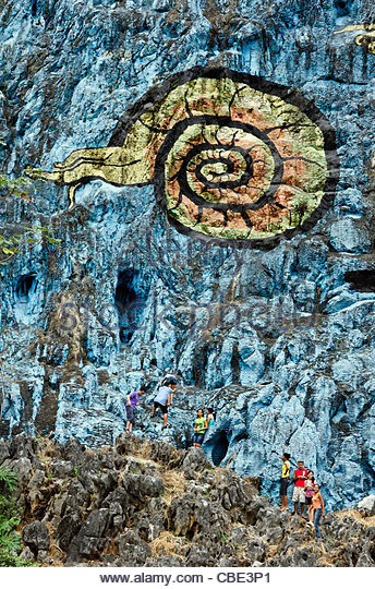 Prehistoria stock photos prehistoria stock images alamy for Mural de la prehistoria cuba
