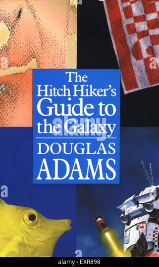 an analysis of hitchhikers guide to the galaxy by douglas adams 2: also a book, written by douglas adams, which centers on the book that the  book takes its name from not to say that the book deals entirely with the book,  but.