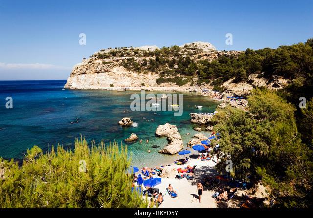 faliraki beach dodecanese greece europe stock photos faliraki beach dodecanese greece europe. Black Bedroom Furniture Sets. Home Design Ideas