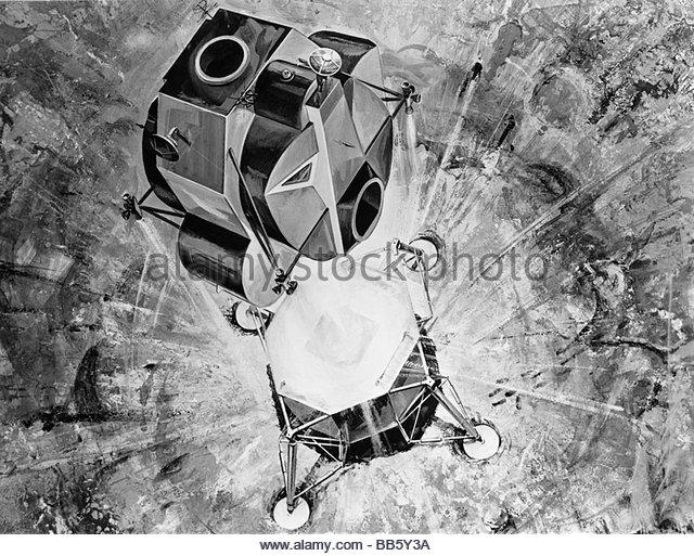 drawing apollo 11 moon lander - photo #18