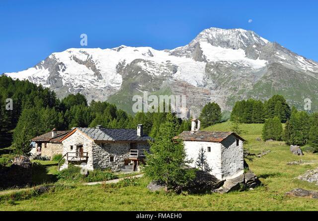 Le Monal 1847m Stock Photos & Le Monal 1847m Stock Images - Alamy