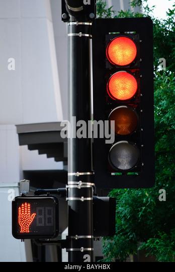 Pedestrian crossing light stock photos pedestrian crossing light stock images alamy - Miffy lamp usa ...