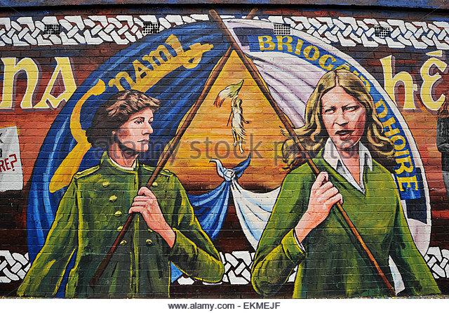 1916 easter rising memorial stock photos 1916 easter for Easter rising mural