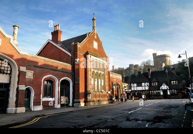 Windsor & Eton Riverside Railway Station Map - England ...