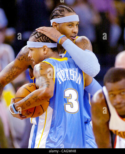 Denver Nuggets Stock Photos And Pictures: Allen Iverson Nuggets Stock Photos & Allen Iverson Nuggets