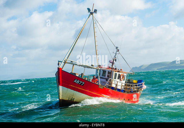 Inshore crab lobster fishing boats stock photos inshore for Inshore fishing boats