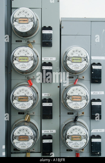 Outdoor Electricity Meter : Magnetometer stock photos images alamy