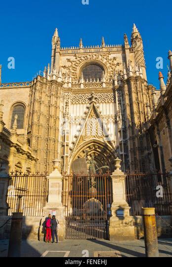 Puertas De Baño San Cristobal:Seville Spain Cathedral San Juan Del Puerto