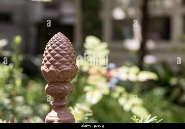 Pineapple decoration stock photos pineapple decoration for Pineapple outdoor decor