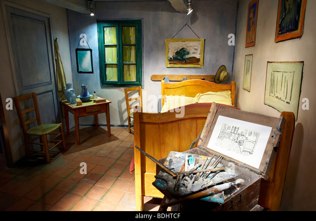 Van gogh bedroom stock photos van gogh bedroom stock images alamy - Chambre a arles van gogh ...