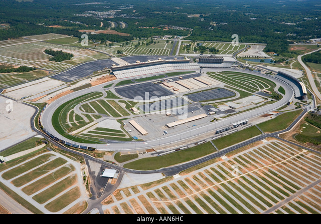 Aerial View Of Atlanta Motor Speedway Stock Photo Picture
