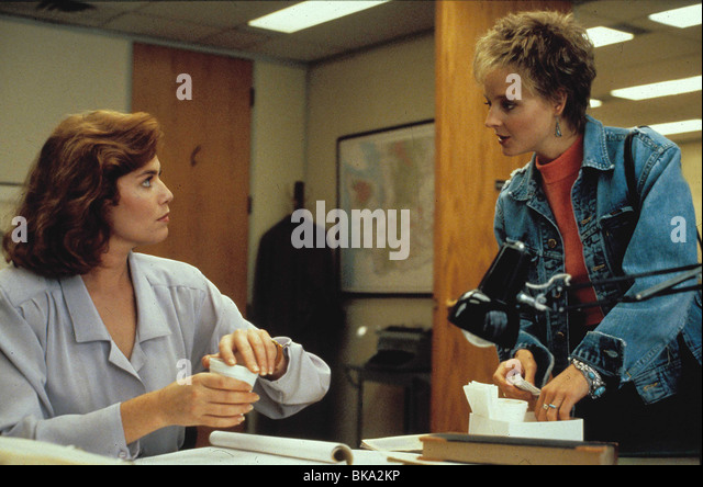 the accused jodie foster stock photos the accused jodie foster  the accused 1988 kelly mcgillis jodie foster tac 002 stock image