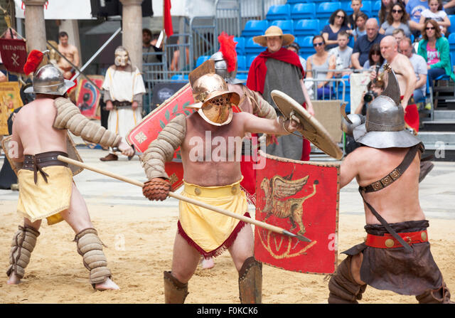Gladiators Battle Stock Photos & Gladiators Battle Stock Images ...
