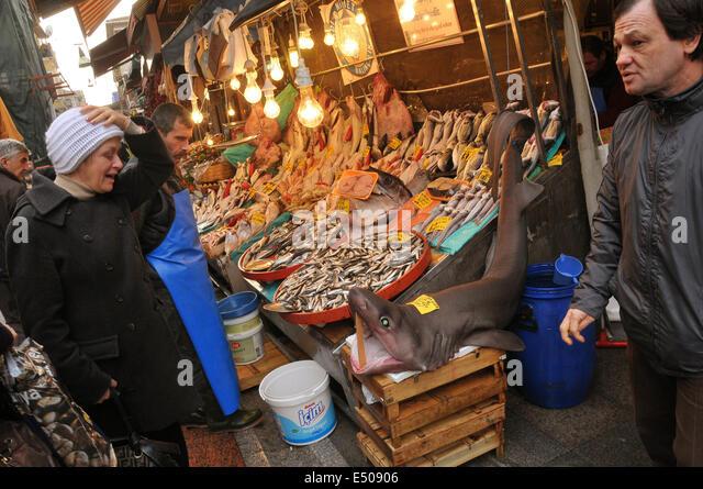 Asian fish market stock photos asian fish market stock for Fish market richmond va