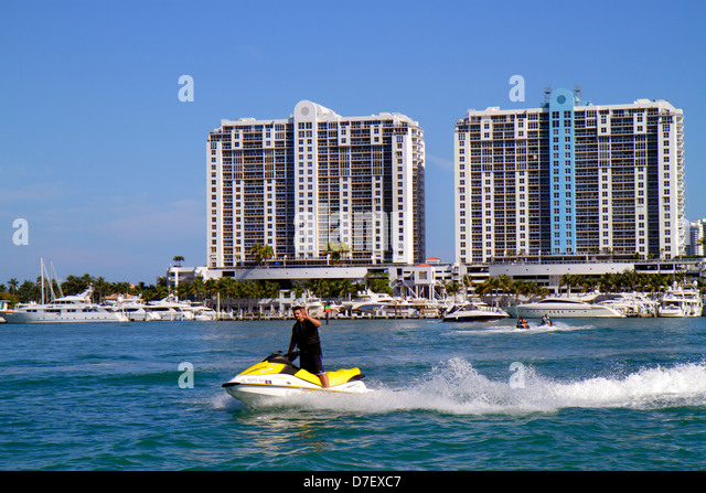 Miami Beach Marina Jet Ski