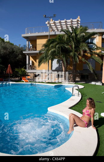 Spanish Resort Pool Stock Photos Spanish Resort Pool Stock Images Alamy