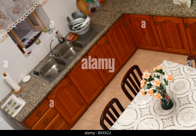 Kitchen View From Above : Furniture from above stock photos