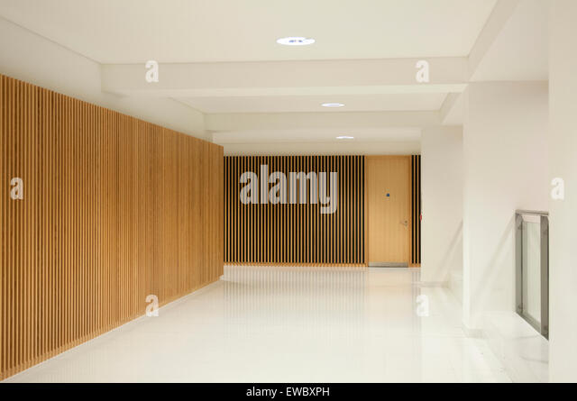 Interior Of A New Nottingham Trent University Building City Nottinghamshire England UK