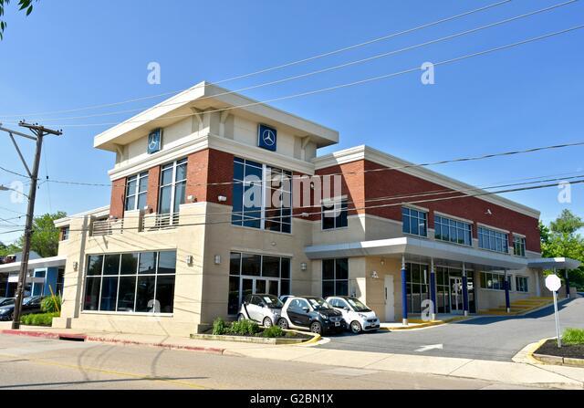 Mercedes benz dealership stock photos mercedes benz for Annapolis mercedes benz