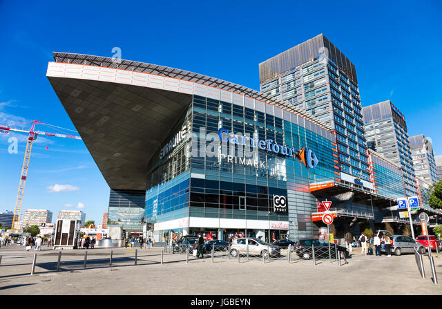 Lille France Euralille Shopping Center Stock Photos Lille France