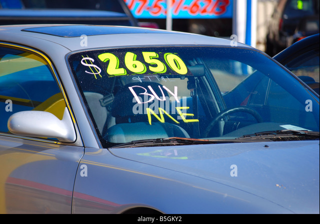 Writing On The Windshield Stock Photos & Writing On The