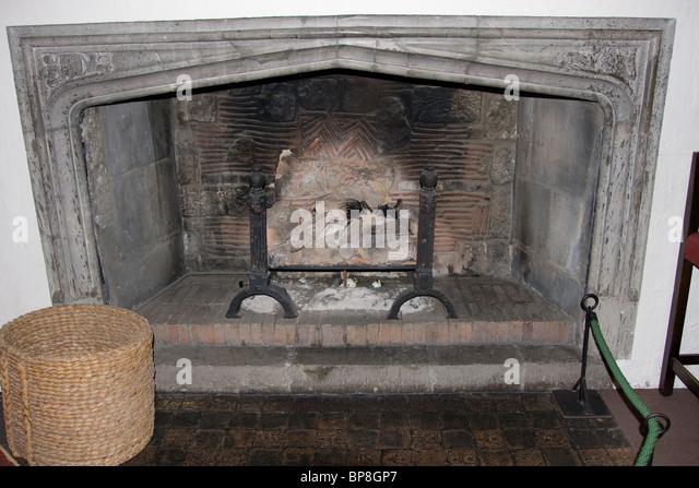 Tudor Fireplace Stock Photos Tudor Fireplace Stock