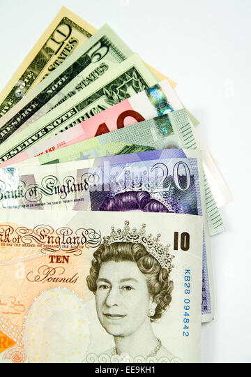 currencies euro pound dollar stock photos currencies euro pound dollar stock images alamy. Black Bedroom Furniture Sets. Home Design Ideas