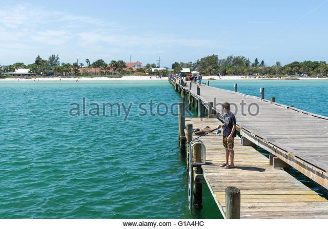 Fishing pier tampa stock photos fishing pier tampa stock for City island fishing