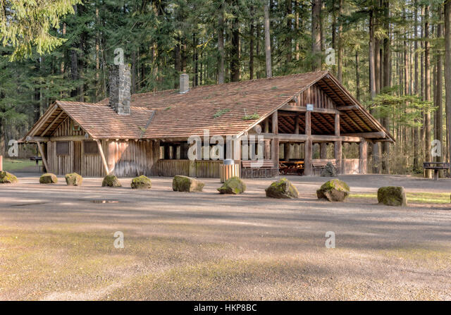 Covered Park Shelters : Picnic shelter stock photos images
