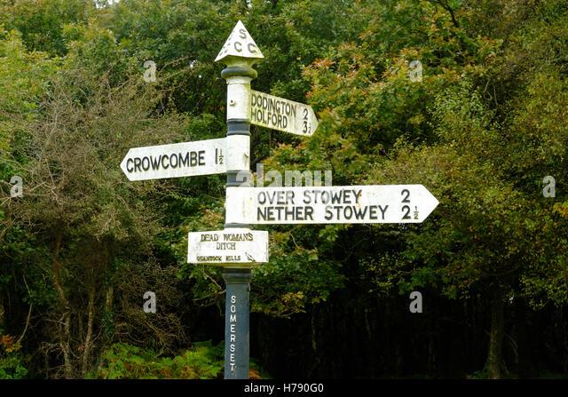 Crowcombe stock photos images alamy