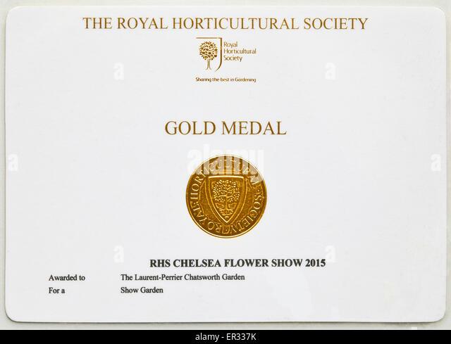 Chelsea garden stock photos chelsea garden stock images - Chelsea flower show gold medals ...