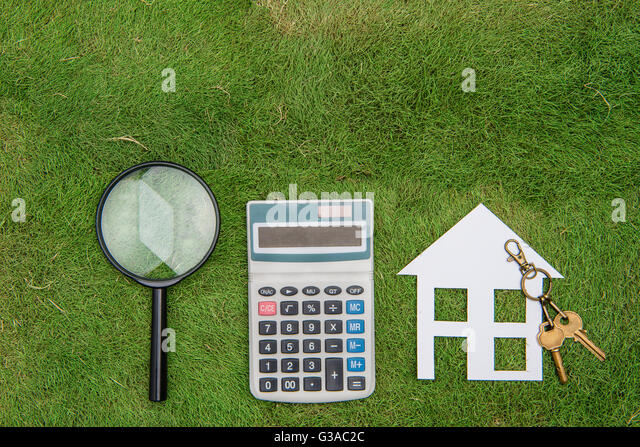 Buy house mortgage calculations calculator stock photos for Building home calculator