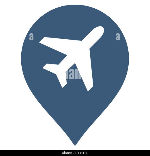 Airport Map Marker Photos and Airport Map Marker Images – Travel Map Marker