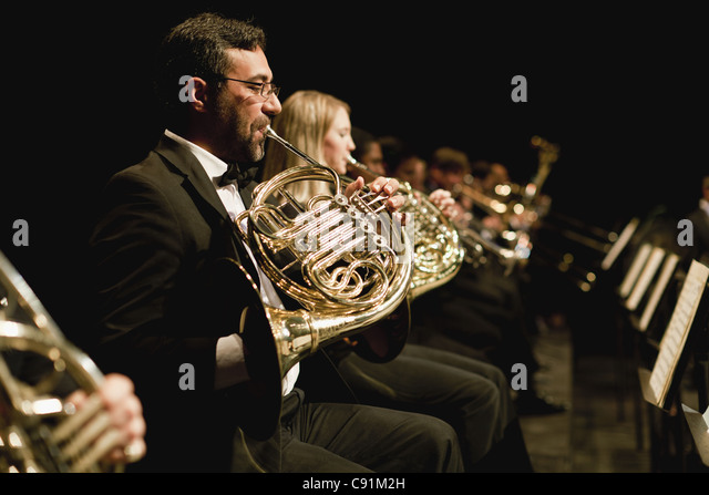 French Horn Stock Photos & French Horn Stock Images - Alamy