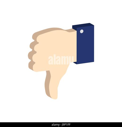 Dislike Icon Symbol 3d Style Stock Photos Dislike Icon Symbol 3d