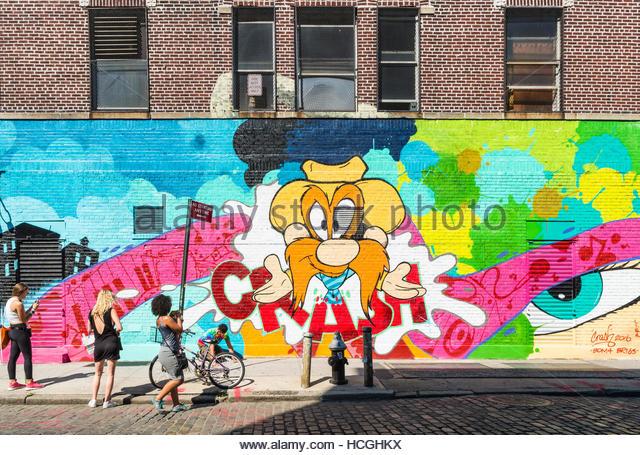 Matos stock photos matos stock images alamy for Mural on broome street