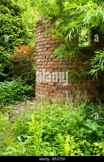 Brick Folly Built Garden Stock Photos Brick Folly Built