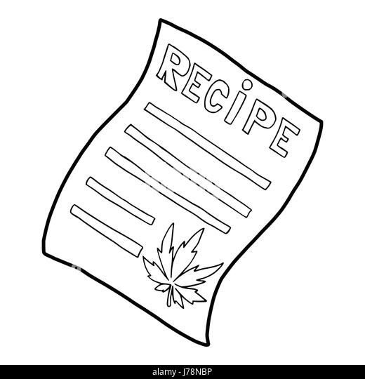 cannabis marijuana leaf icon outline stock photos