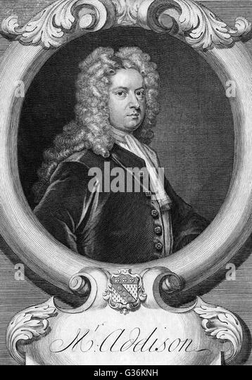 joseph addison as a periodical essayist Sir richard steele (bap 12 march with his friend joseph addison steele wrote this periodical under the pseudonym isaac bickerstaff and gave bickerstaff.
