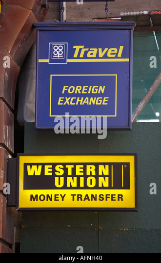 Western Union Currency Exchange Stock Photos Amp Western