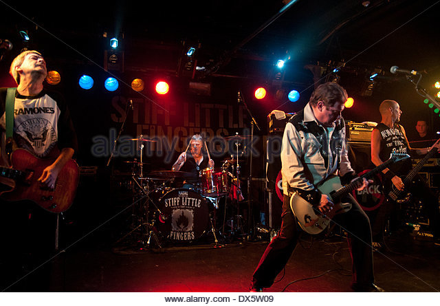 Stiff Little Fingers Live In Aberdeen