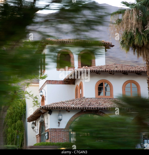 Spanish Style Home California Stock Photos Spanish Style