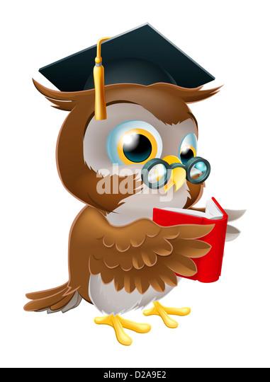 Graduation Cap Book Glasses Stock Photos Amp Graduation Cap