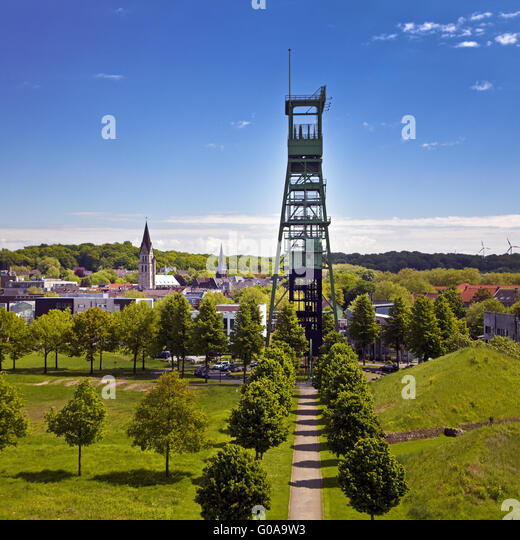 Castrop-Rauxel Germany  city images : Former coal mine Erin, Castrop Rauxel, Germany Stock Image