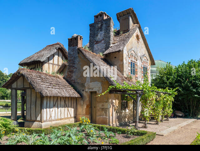 hameau de la reine stock photos hameau de la reine stock images alamy. Black Bedroom Furniture Sets. Home Design Ideas
