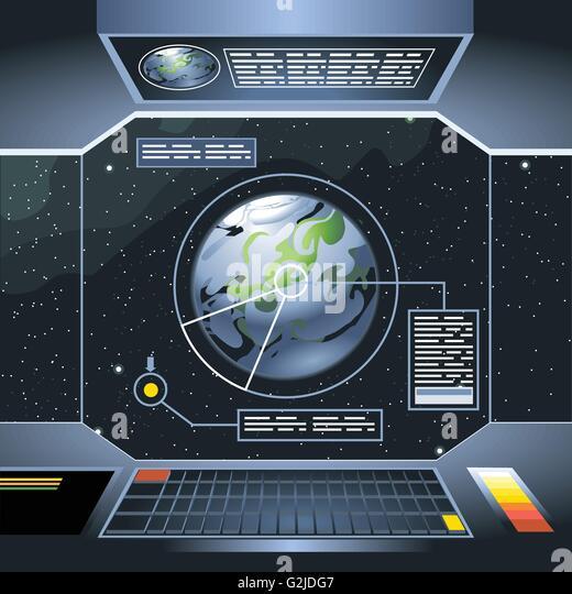 Spaceman cartoon planet stock photos spaceman cartoon for Fenetre dos windows 7