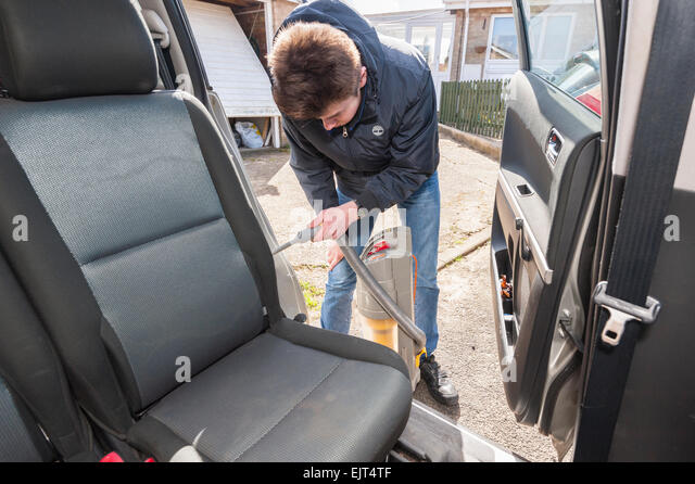 cleaning car uk stock photos cleaning car uk stock images alamy. Black Bedroom Furniture Sets. Home Design Ideas