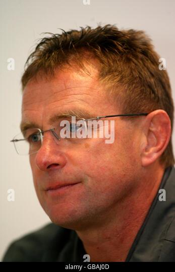 Ralf Rangnick Coach Bundesliga Soccer Stock Photos Ralf