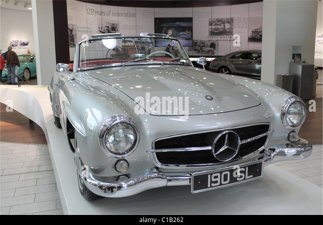 Mercedes 190sl stock photos mercedes 190sl stock images for Mercedes benz surrey uk