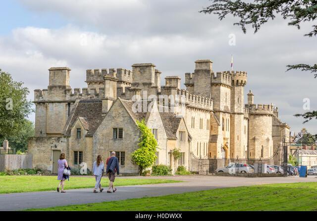 Cecily Hill Barracks Cirencester Park Gloucestershire England UK